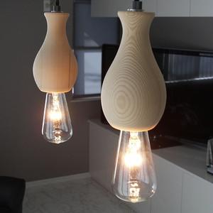 ペンダントライト ランプ 照明 Hout Tokkuri(ハウト トックリ) 天井照明 裸電球 LED対応