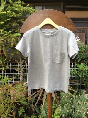 YAECA  Tシャツポケット付き #160054、GRAY