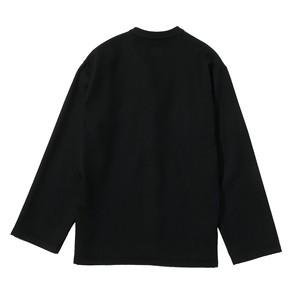 【product almostblack】Cardigan wool shirt