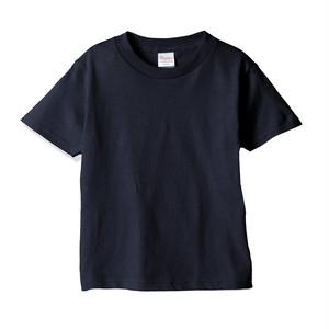 キッズ クルーネックTシャツ (半袖) ネイビー
