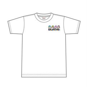 ワンポイントTシャツ「タイトルロゴ+英雄」