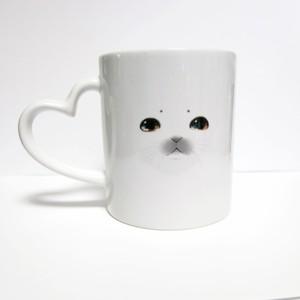 あざらしのお顔マグカップ