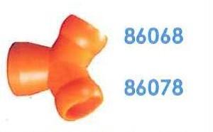 """86078 汎用クーラントホース3/4"""" 3/4"""" Yフィティング"""