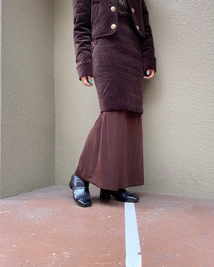 (PAL) design long skirt