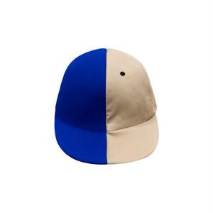 HALF-HALF/blue x beige