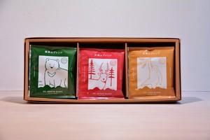 ギフトセット|ドリップバックコーヒー 3銘柄(15パック入り)