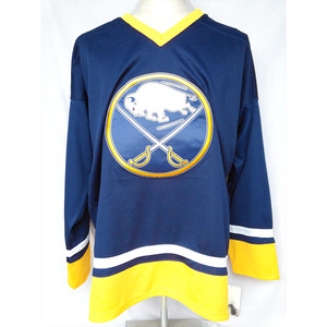 バッファロー セイバーズ レプリカ ユニホーム ホッケージャージ  BUFFALO SABRES NHL M L XL 497