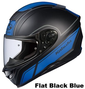 OGK AEROBLADE-5 SMART Flat Black Blue