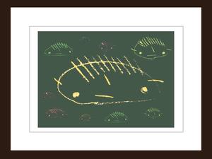 プリント額絵:しゅんすけ作「しゅんぼう黒板」