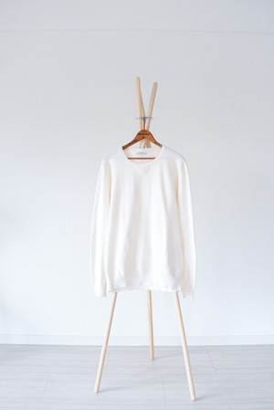 【Made in Italy】High-gauge Wool sweater / v296
