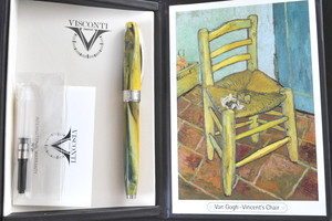 ヴィスコンティ ヴァン・ゴッホ ヴィンセント・チェア VISCONTI Van Gogh Vincent's Chair (細字)     01806