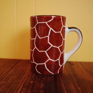 マグカップ キリン (南アフリカ ハンドメイド)