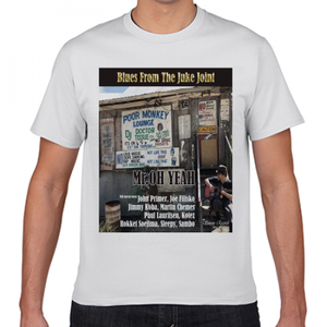 Tシャツ「Blues From The Juke Joint」
