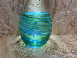 美ら海タルグラス 緑色 源河源吉琉球ガラス