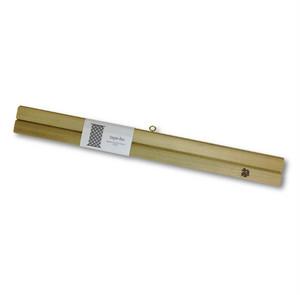 木製 タペストリー棒 tape-bo 限定品 朴(ホオ)白太