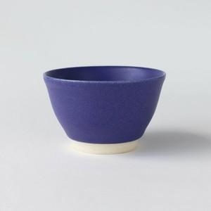 茄子紺釉煎茶碗