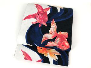 「金魚」リバーシブル京袋帯