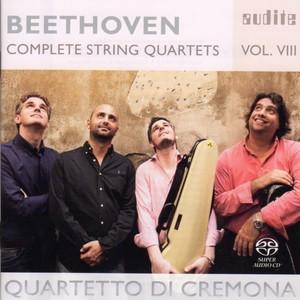 [中古SACD] ベートーヴェン:弦楽四重奏曲第8集 第3番/第10番「ハープ」 クレモナ四重奏団