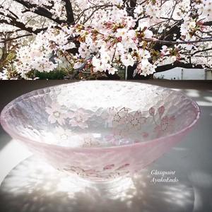 【淡桜】ソメンヨシノ耐熱平抹茶碗/両親へのプレゼント・母の日・父の日・退職祝い・敬老の日・還暦祝い・お誕生日プレゼント