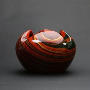 昭和レトロ 陶器灰皿 アッシュトレイ(527)