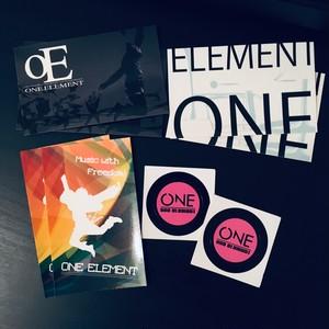 ONE ELEMENTステッカーSET(4種8枚入り)