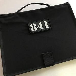 【841パッチ付き】パッチブック パッチコレクション パッチ収容 ファイル シート ブック