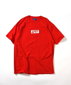 """Lafayette(ラファイエット)""""LFYT エルエフワイティー LFYT BOX LOGO TEE""""[RED]"""