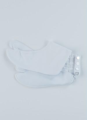 テトロン足袋 白足袋 4枚こはぜ 男女兼用 着物 振袖