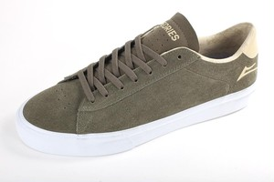 Theories x Lakai Newport Suede Olive Shoes ラカイ セオリーズ