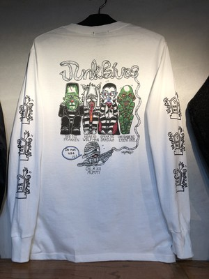 "NIGHTBEAT. LONG SLEEVE T-SHIRT  ""MONSTERS"""