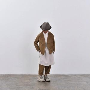 MOUN TEN. MOUNTEN. double cloth stretch jacket (coyote) [MT202008-a] 110/125/140