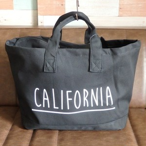 """CALIFORNIA"" canvas tote bag BLACK        キャンバストートバッグ"