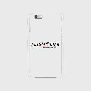 Flightlife ロゴ: スマホケース for iPhone6/6s (透明)
