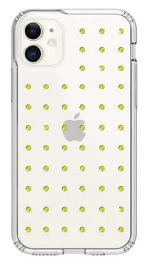 Bling My Thing MINI EXTRAVAGANZA for iPhone11 (NEON YELLOW×CLEAR)