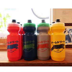 TEAM DREAM BICYCLING TEAM / Japanese 22oz Chubby Cat Bottle