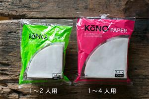 KONO円すいペーパー 1〜4人用 100枚入り MD-45