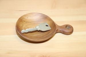 ~バリ発雑貨~木製のスプーン型小物トレイ
