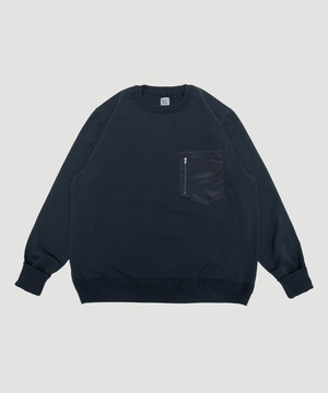 BEST PACK Stretch Crew Neck Knit Black BPSTN-KN01