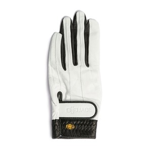 Elegant Golf Glove white-black < 左手 >