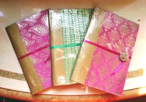 インド柄 ノートブック