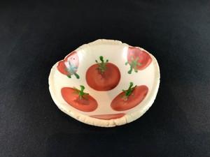 赤絵 トマト 小皿