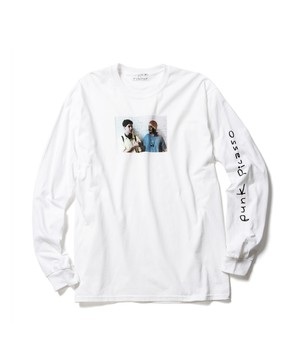 L/S Tee 1  WHITE  19AW-FS×LC-04