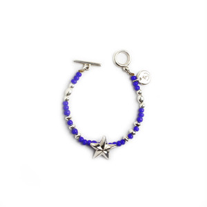 CONSIGLIERE/コンシリエーレ Lucky star beads bracelet/Blue-A