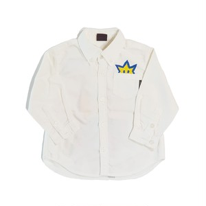 【キッズ】ホワイトシャツ with クラウン