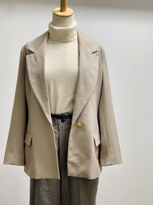 Old Wool Twill Tailored Jacket
