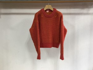 "MAISON EUREKA "" PLATING SWEATER "" ORENGE"