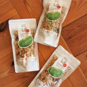 【送料無料】とかち大豆のグラノーラ(基本3Pセット)