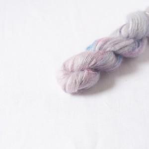 うろこ-purple- (kid mohair silk NEW)