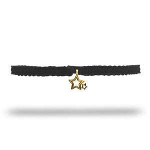 【無料ギフト包装/送料無料/限定】K18 Gold Indian Stella Anklet Black【品番 20S2004】