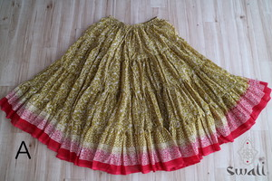 Jhodha maharani skirt 25Yard マハラニスカート